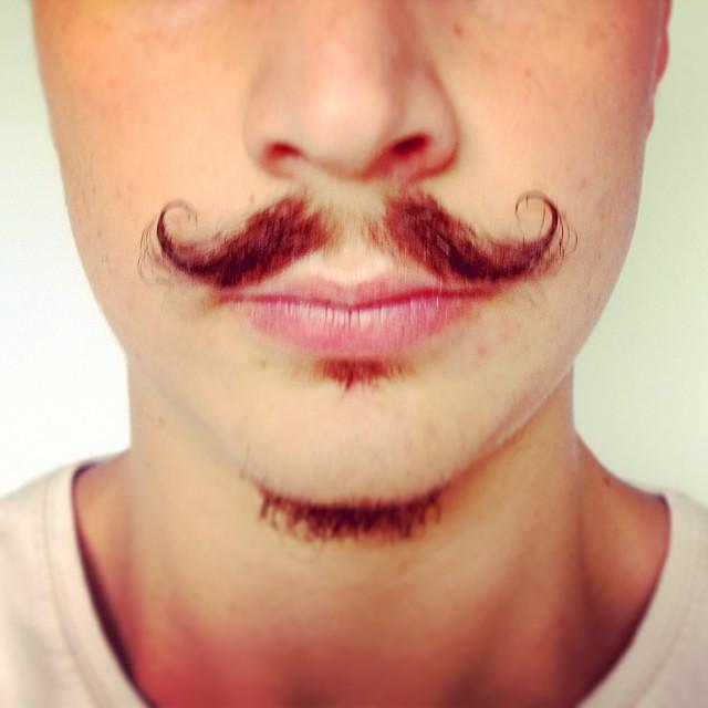 Krul Snor Movember