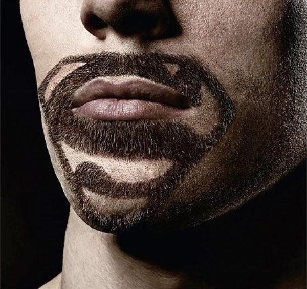 Superman Movember Snor