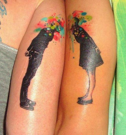 Vaak 20 Schattige Matching Tattoos Voor Stellen #CD08