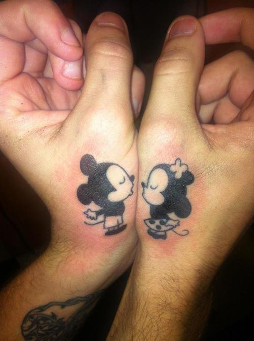 Bekend 20 Schattige Matching Tattoos Voor Stellen #KS87