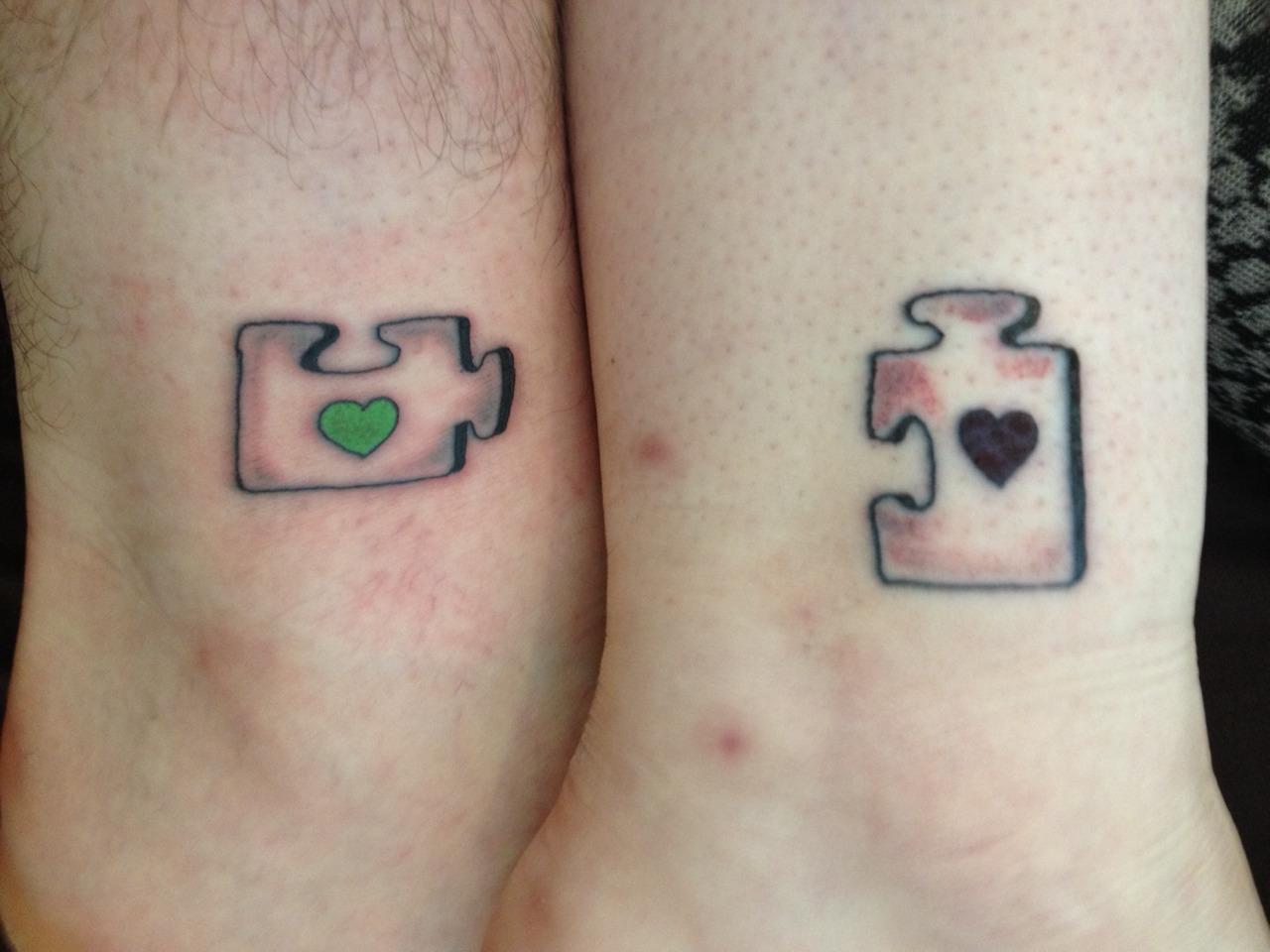 Fabulous 20 Schattige Matching Tattoos Voor Stellen #SG96