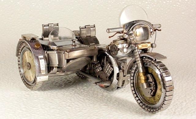 motors van oude polshorloges