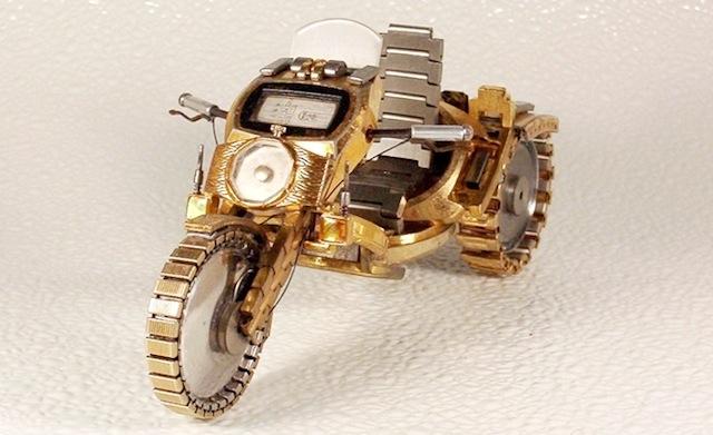 motors van horloges