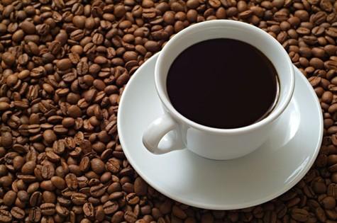 Koffie wordt gedronken