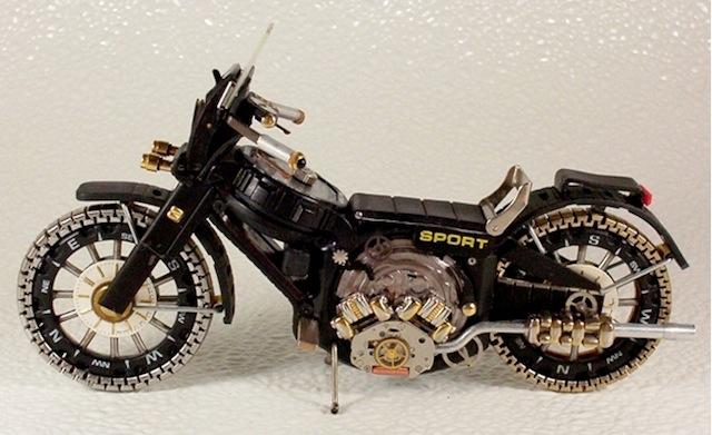 horloge-onderdelen motor