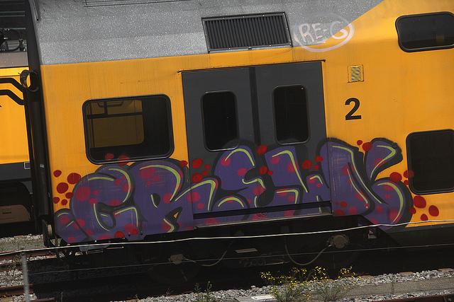 Crews op trein van Nederlandse Spoorwegen
