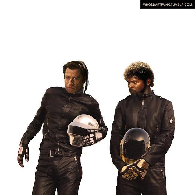 John Travolta, Samuel L. Jackson Daft Punk