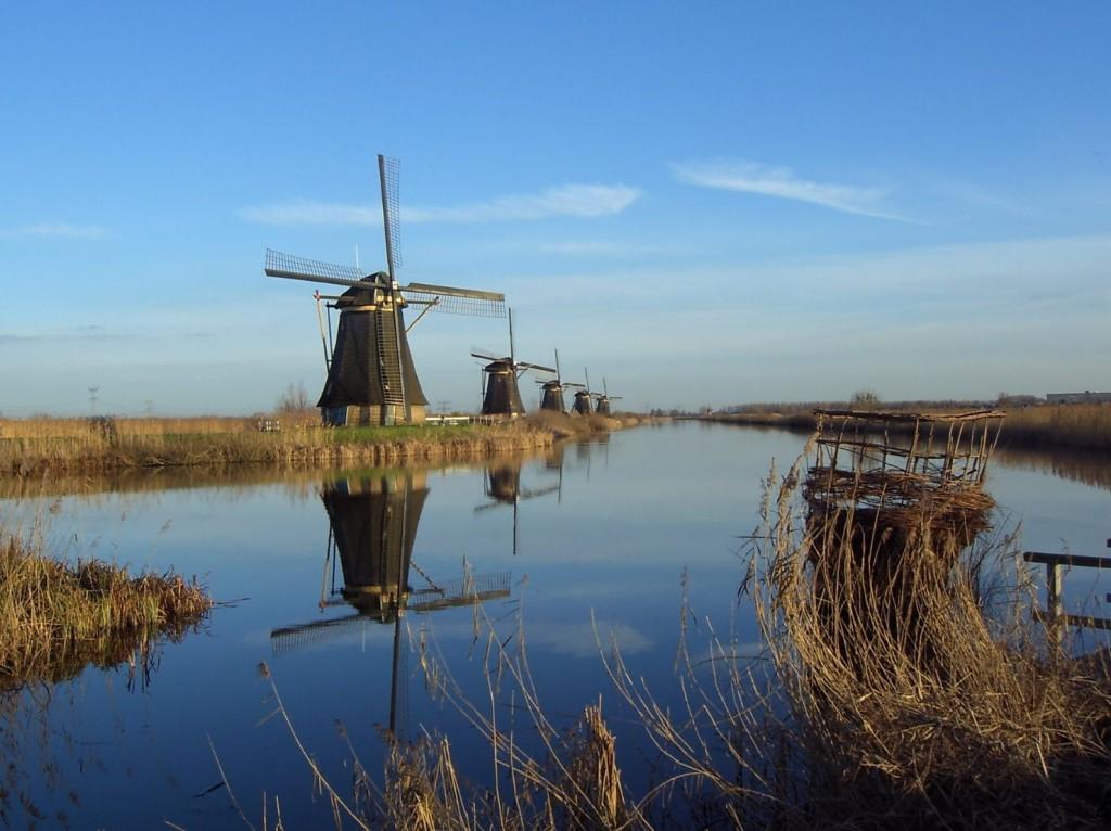 klassieke werkende molens in Nederland