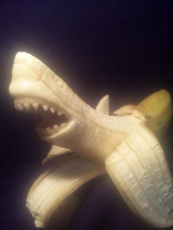 kunstwerken gemaakt van bananen
