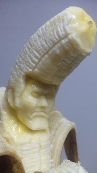 kunst van bananen