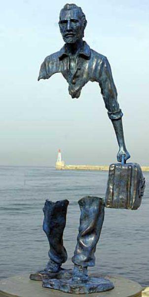 Bijzondere standbeelden