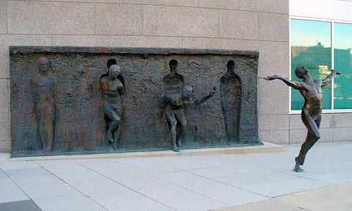 standbeeld freedom sculpture Pennsylvania