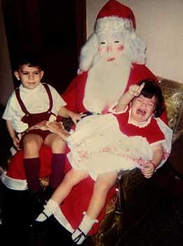 Enge kerstman, ongepaste kerstmannen